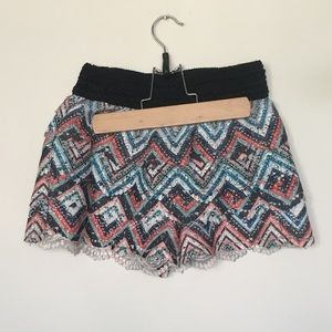 Funky Lace Shorts